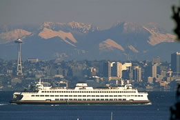 Waterjet cutting for Washington Ferry